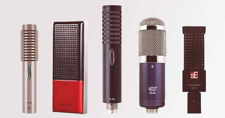 Quelques microphones à ruban célèbres