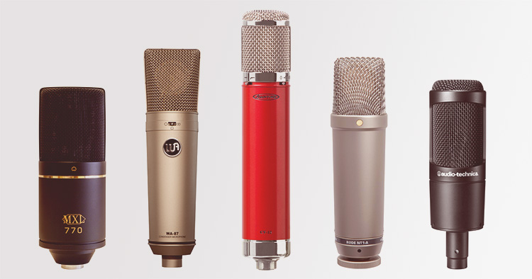 Les microphones statiques ou à condensateur