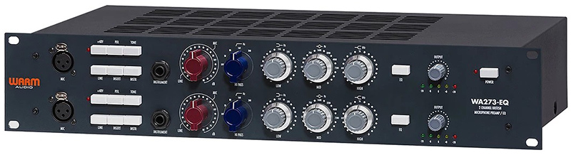 Préampli WA273-EQ de Warm Audio