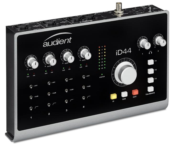 L'interface iD44 d'Audient