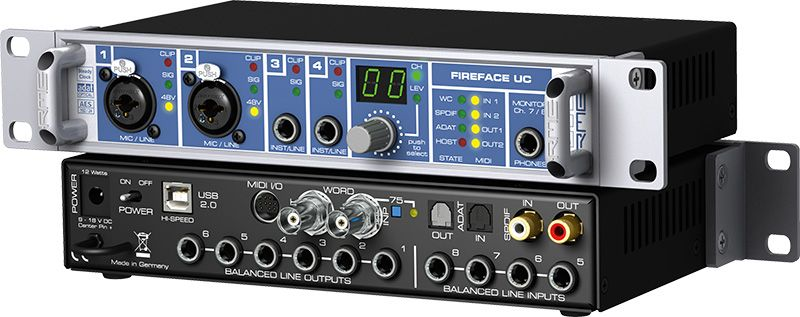 L'interface USB Fireface UC de RME