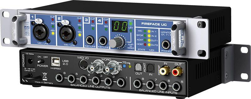 L'interface USB Fireface UC de RME
