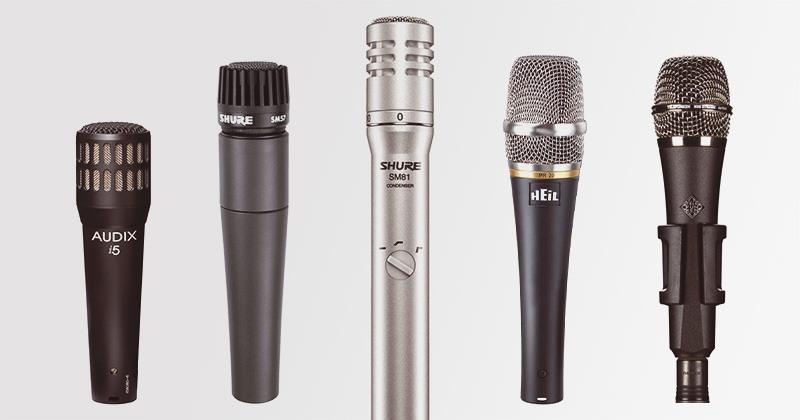 Microphones pour la caisse claire