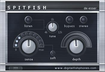 Le de-esser gratuit Spitfish