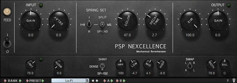 Le plugin Nexcellence de PSP Audioware