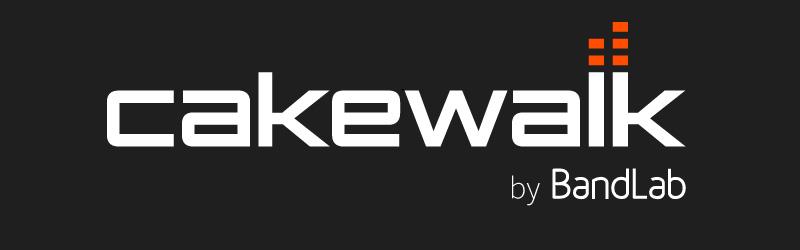 Le nouveau logo de Cakewalk by BandLab