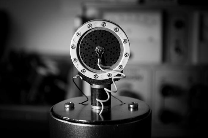 Capsule/Membrane d'un microphone statique