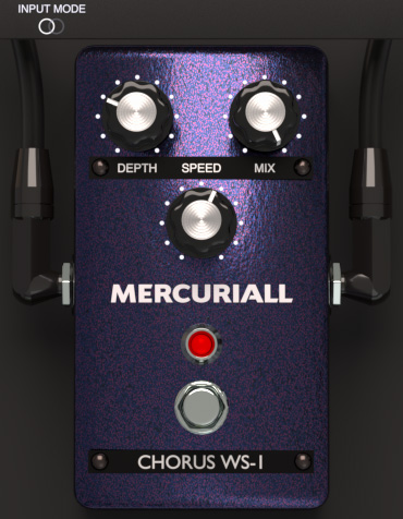 L'interface de Chorus WS-1 de Mercuriall