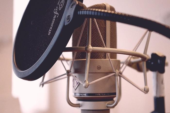 :icrophone d'enregistrement de voix