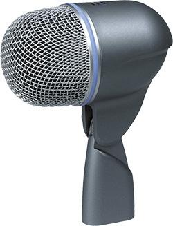 Le microphone grosse caisse Beta 52A de Shure