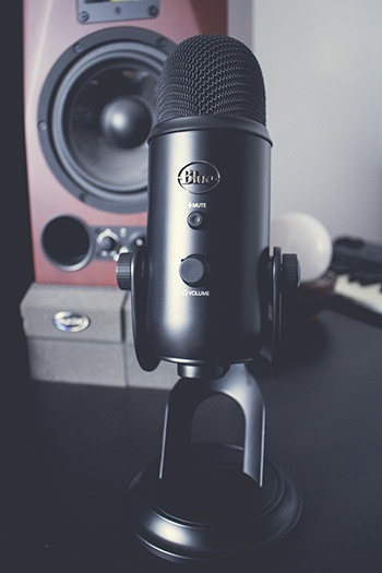Le microphone Blue Yeti