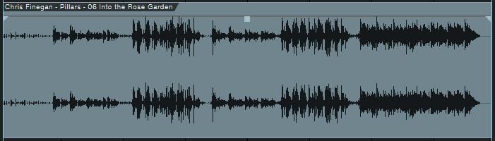 Piste prête pour le mastering audio
