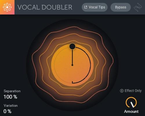 Le Vocal Doubler d'iZotope