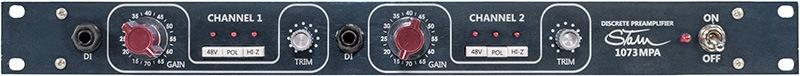 Le préampli micro 1073MPA de Stam Audio