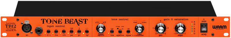 Le préampli micro Tone Beast TB12 de Warm Audio