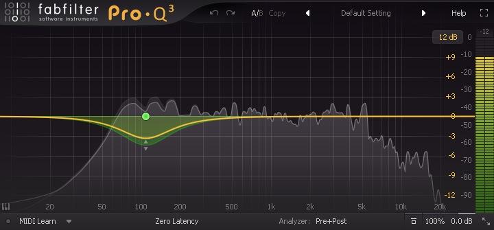 Filtre EQ Dynamique avec FabFilter Pro-Q 3