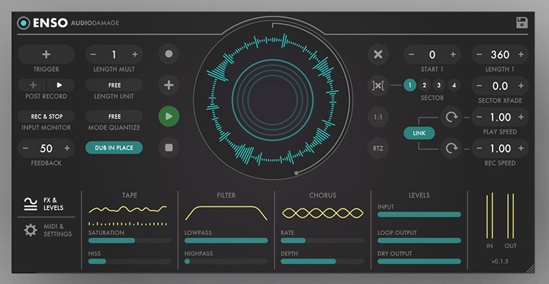 Le Looper Enso d'Audio Damage