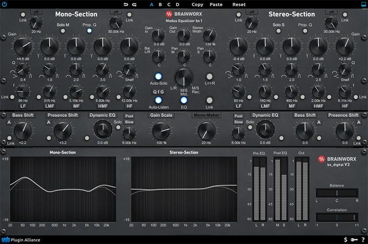 Le plugin de mastering bx_digital v3 de Brainworx