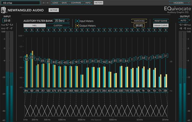 Le plugin de mastering EQuivocate de Newfangled Audio