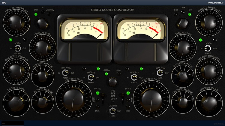 Le plugin de mastering SDC de Sknote