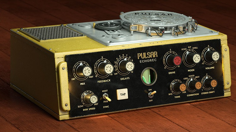Le plugin Pulsar Audio Echorec