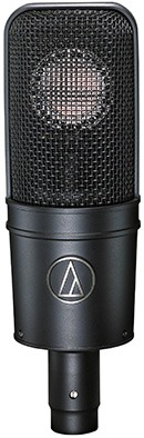 Le microphone statique AT4040 d'Audio-Technica