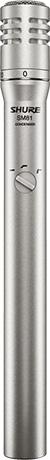 Le microphone statique SM81 de Shure