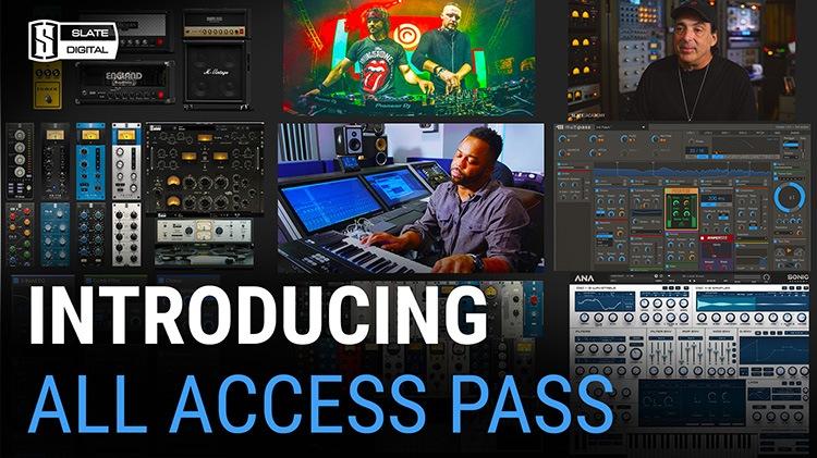 Le All Access Pass de Slate Digital