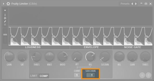 Activation du Sidechain dans FL Studio