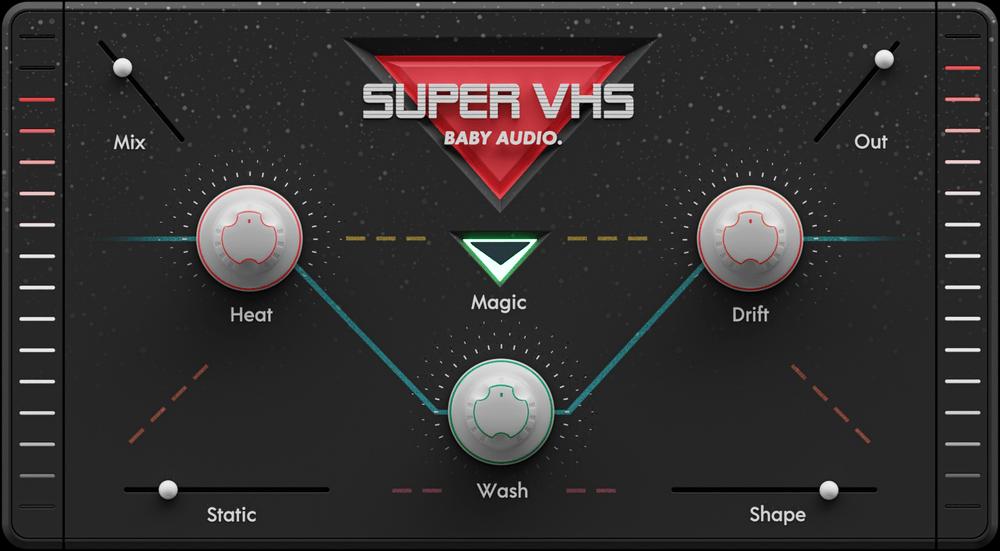 Le plugin Super VHS de Baby Audio