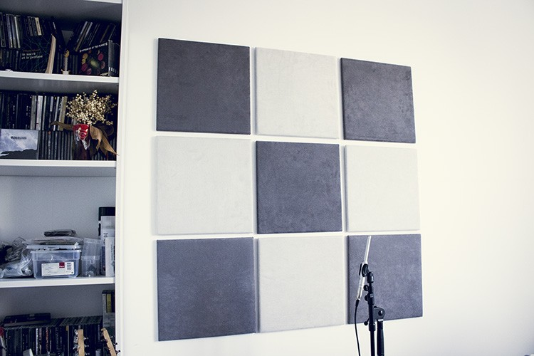 Un exemple de traitement acoustique en home studio