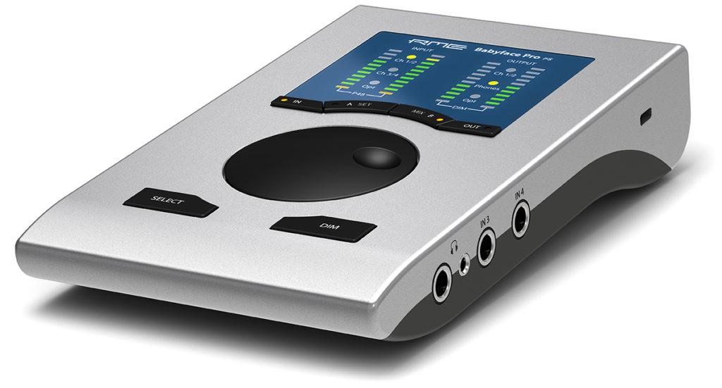 L'interface Babyface Pro FS de RME