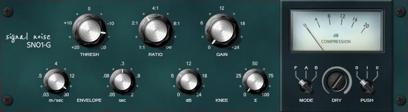 Le compresseur SN01-G de Sender Spike
