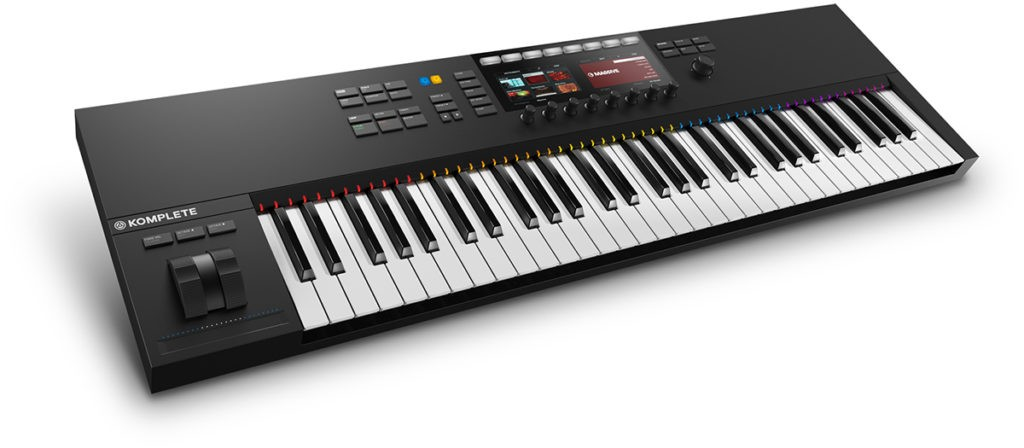 Le clavier MIDI Komplete Kontrol S61 de Native Instruments