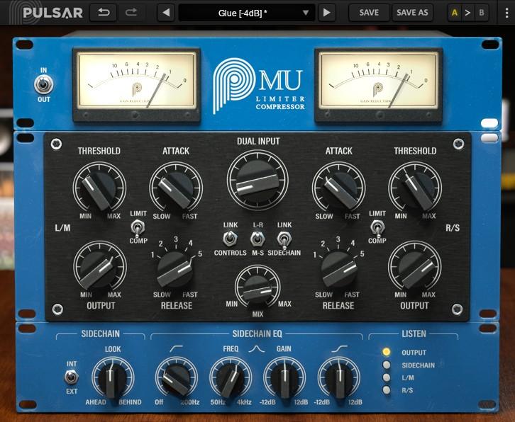Le compresseur de mastering Mu de Pulsar Audio
