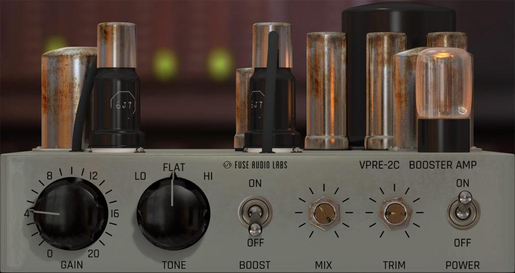 Le plugin VPRE-2C de Fuse Audio Labs