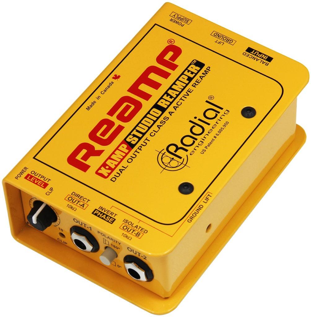 Le boîtier de reamping X-Amp de Radial
