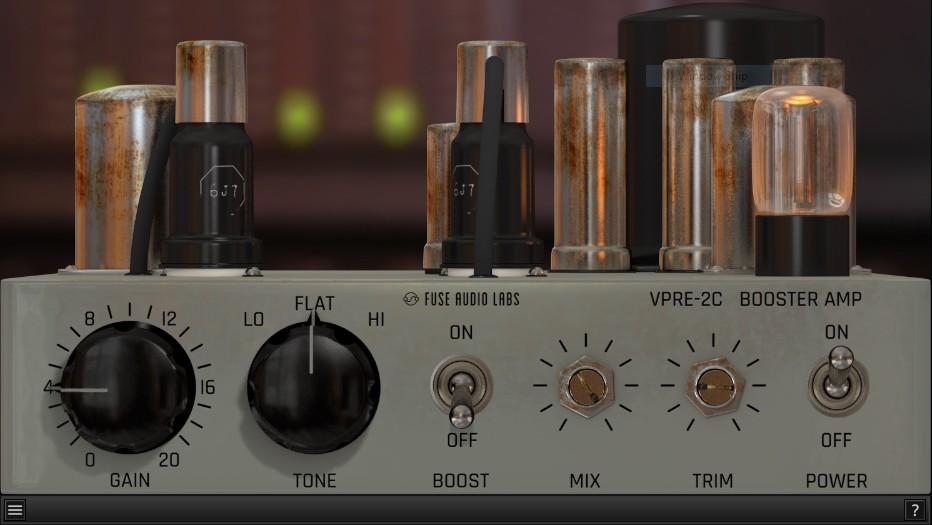 L'interface de VPRE-2C de Fuse Audio Labs