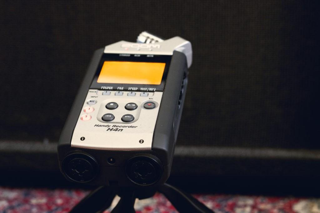 Enregistrement d'un ampli avec un Zoom H4N