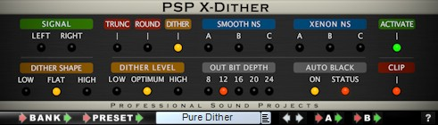 Le plugin de dithering PSP X-Dither