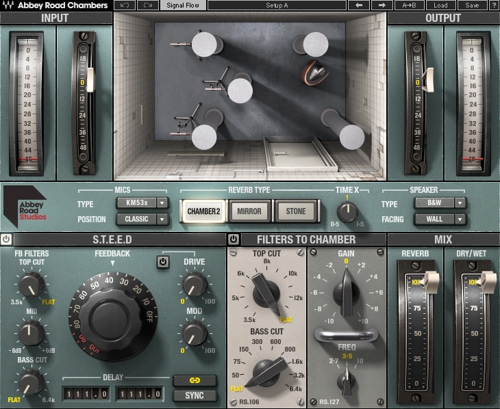 Le plugin Waves Abbey Road Chambers