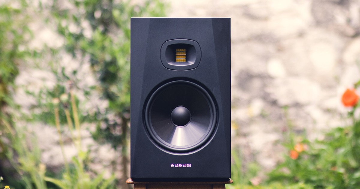 Les enceintes de monitoring T8V d'Adam Audio