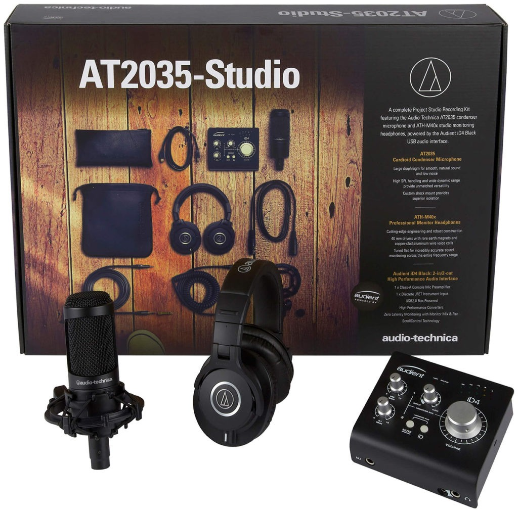 Le pack home studio Audio Technica AT2035