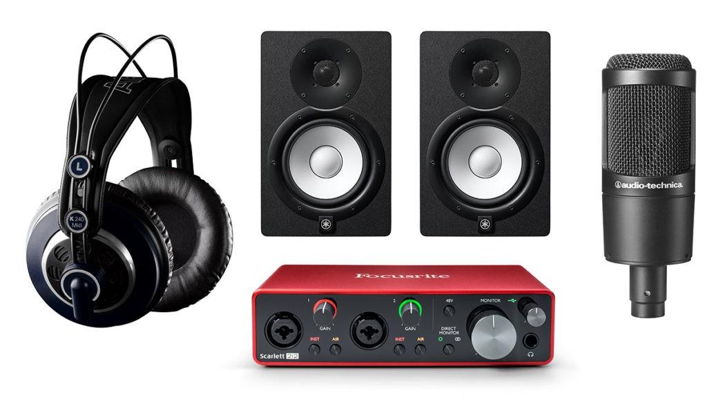 Pack de matériel Projet Home Studio n°2