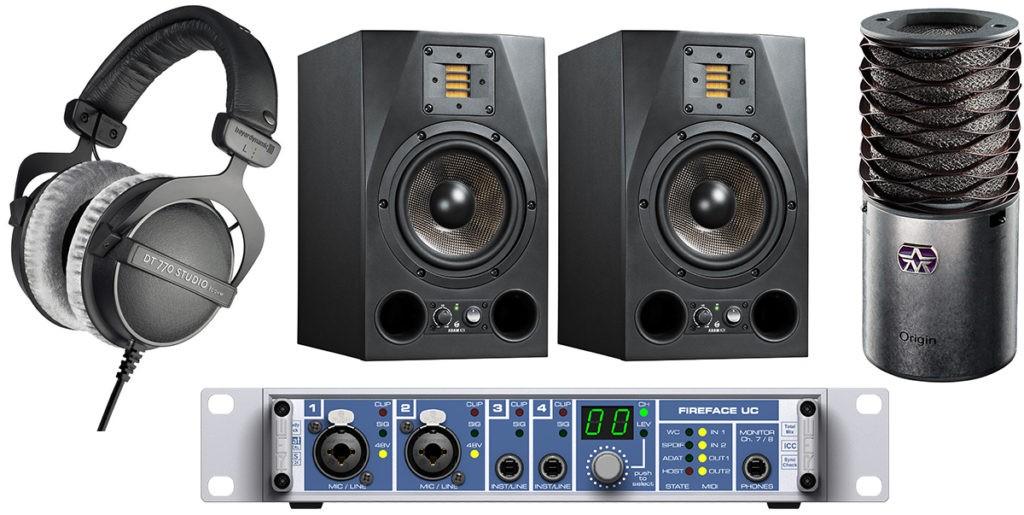 Pack de matériel Projet Home Studio n°4