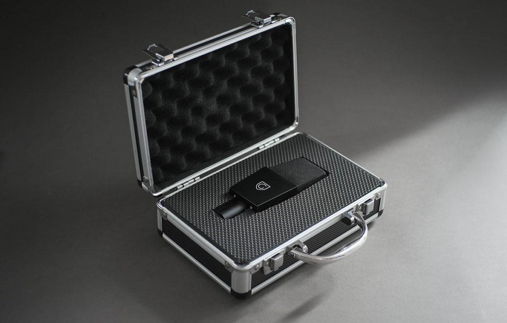 Le GMT-412 dans sa malette