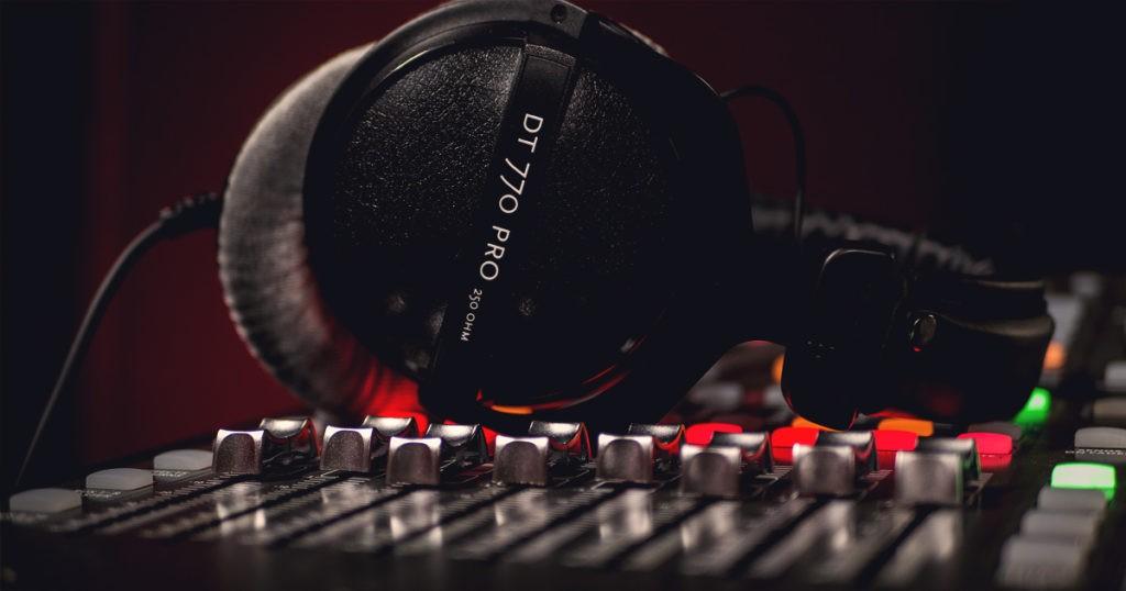 Un casque de studio professionnel