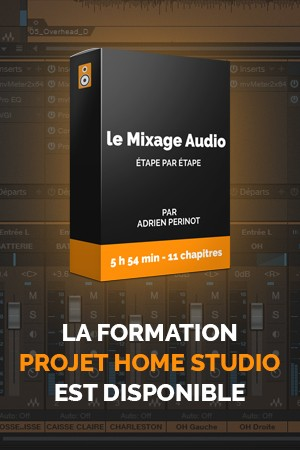 Formation Projet Home Studio disponible
