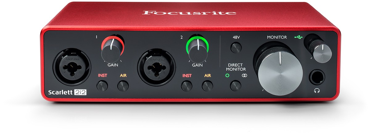Interface Audio Focusrite 2i2