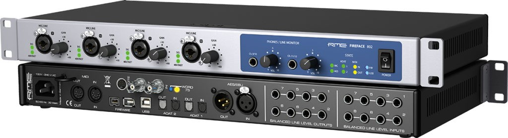 L'interface audio RME Fireface 802